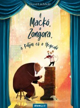 A MACKÓ, A ZONGORA, A KUTYUS ÉS A HEGEDŰ - Ekönyv - LITCHFIELD, DAVID
