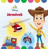 DISNEY BABY - JÁRMŰVEK - Ekönyv - MANÓ KÖNYVEK
