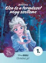 ELZA ÉS A TERMÉSZET NÉGY SZELLEME - DISNEY SULI OLVASNI JÓ! 1. SZINT - Ekönyv - MANÓ KÖNYVEK