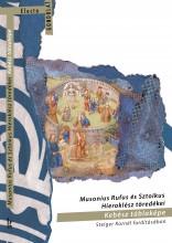 MUSONIUS RUFUS ÉS SZTOIKUS HIEROKLÉSZ TÖREDÉKEI - KEBÉSZ TÁBLAKÉPE - Ekönyv - GONDOLAT KIADÓ