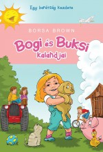 BOGI ÉS BUKSI KALANDJAI - Ekönyv - BROWN, BORSA
