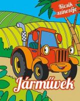 JÁRMŰVEK - KICSIK SZÍNEZŐJE - Ekönyv - NAPRAFORGÓ KÖNYVKIADÓ