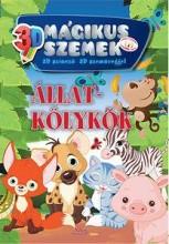 ÁLLATKÖLYKÖK - 3D MÁGIKUS SZEMEK, SZÍNEZŐ SZEMÜVEGGEL - Ekönyv - XACT ELEKTRA KFT.