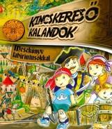 KINCSKERESŐ KALANDOK - MESEKÖNYV LABIRINTUSOKKAL - Ekönyv - SZABÓ ZSOLT