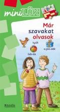 MÁR SZAVAKAT OLVASOK - MINI LÜK - Ekönyv - LDI248