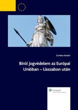 Bírói jogvédelem az Európai Unióban - Lisszabon után - Ekönyv - Gombos Katalin