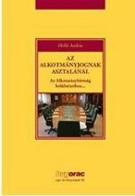 AZ ALKOTMÁNYJOGNAK ASZTALÁNÁL - Ekönyv - HOLLÓ ANDRÁS
