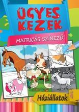 HÁZIÁLLATOK - ÜGYES KEZEK MATRICÁS SZÍNEZŐ - Ekönyv - BERNÁTH ISTVÁN