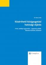 Közérthető közigazgatási hatósági eljárás (4. kiadás) - Ekönyv - Dr. Boros Anita