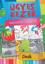 DÍNÓK - ÜGYES KEZEK MATRICÁS SZÍNEZŐ - Ekönyv - XACT ELEKTRA KFT.