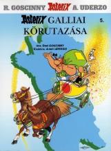 ASTERIX GALLIAI KÖRUTAZÁSA - ASTERIX 5. (ÚJ!!) - Ekönyv - GOSCINNY, R.-UDERZO, A.