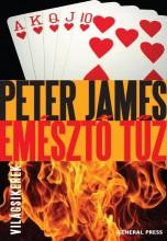 EMÉSZTŐ TŰZ - - Ekönyv - JAMES, PETER