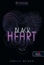 BLACK HEART - FEKETE SZÍV - FŰZÖTT - ÁTOKVETŐK 3. - Ekönyv - BLACK, HOLLY