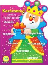 Karácsonyi játékos foglalkoztató - Lila - Ekönyv - NAPRAFORGÓ KÖNYVKIADÓ
