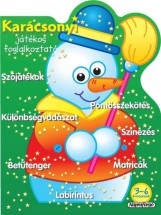 Karácsonyi játékos foglalkoztató - Zöld - Ekönyv - NAPRAFORGÓ KÖNYVKIADÓ