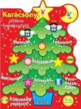 Karácsonyi játékos foglalkoztató - Piros - Ekönyv - NAPRAFORGÓ KÖNYVKIADÓ