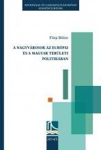 A NAGYVÁROSOK AZ EURÓPAI ÉS A MAGYAR TERÜLETI POLITIKÁBAN - Ekönyv - FILEP BÁLINT