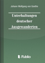 Unterhaltungen deutscher Ausgewanderten - Ebook - Johann Wolfgang von Goethe