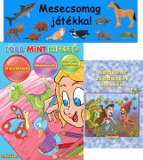 MESECSOMAG JÁTÉKKAL - KÉK (FIÚKNAK) - Ekönyv - ROLAND TOYS KFT.