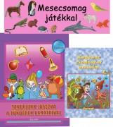 MESECSOMAG JÁTÉKKAL - RÓZSASZÍN (LÁNYOKNAK) - Ekönyv - ROLAND TOYS KFT.