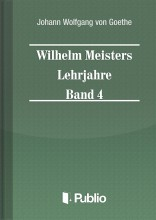 Wilhelm Meisters Lehrjahre  Band 4 - Ekönyv - Johann Wolfgang von Goethe