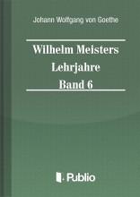 Wilhelm Meisters Lehrjahre  Band 6 - Ekönyv - Johann Wolfgang von Goethe