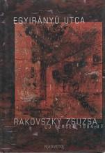 Egyirányú utca - Ekönyv - Rakovszky Zsuzsa