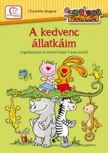 A KEDVENC ÁLLATKÁIM - SZÓRAKOZVA TANULOK - FOGLALKOZTATÓ - Ekönyv - WAGNER, CHARLOTTE