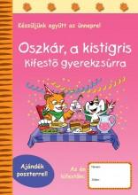 OSZKÁR, A KISTIGRIS - KIFESTŐ GYEREKZSÚRRA - Ekönyv - RAABE TANÁCSADÓ ÉS KIADÓ KFT