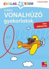 VIDÁM VONALHÚZÓ GYAKORLATOK - ÍRÁS-ELŐKÉSZÍTÉS - Ekönyv - TESSLOFF ÉS BABILON KIADÓI KFT.