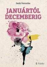 Januártól decemberig - Ekönyv - Deák Veronika