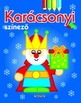 Karácsonyi színező - Kék - Ebook - NAPRAFORGÓ KÖNYVKIADÓ