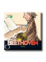 BEETHOVEN - CD MELLÉKLETTEL - - Ekönyv - GEOPEN KIADÓ