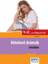 KÖTELEZŐ DRÁMÁK RÖVIDEN 9-12. OSZTÁLYOSOKNAK - Ekönyv - SÁNDOR ILDIKÓ