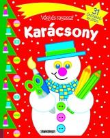 Vágj és ragassz! - Karácsony - Piros - Ekönyv - NAPRAFORGÓ KÖNYVKIADÓ