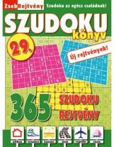 ZSEBREJTVÉNY SZUDOKU KÖNYV 29. - Ekönyv - CSOSCH BT.