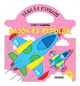 Táskás kifestők matricákkal - Hajók és repülők - Ekönyv - NAPRAFORGÓ KÖNYVKIADÓ