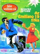 Az Emiliano 19. titka (Kémvadászok-8) - Ekönyv - Nemere István