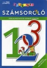 SZÁMSOROLÓ - FOGLALKOZTATÓ ÉS SZÍNEZŐ FÜZETEK - MATRICA-MELLÉKLETTEL - Ekönyv - DIBÁS GABRIELLA