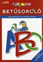 BETŰSOROLÓ - FOGLALKOZTATÓ ÉS SZÍNEZŐ FÜZETEK - MATRICA-MELLÉKLETTEL - Ekönyv - DIBÁS GABRIELLA