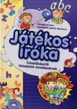 JÁTÉKOS ÍRÓKA - ÍRÁSELŐKÉSZÍTŐ FELADATOK ÓVODÁSOKNAK - Ekönyv - SÜVEGES ANDREA - SZOMBATNÉ MOLNÁR MARIAN