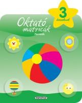 Oktató matricák - Formák (3 éveseknek) - Ekönyv - NAPRAFORGÓ KÖNYVKIADÓ