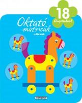 Oktató matricák - Játékok (18 hónaposoknak) - Ekönyv - NAPRAFORGÓ KÖNYVKIADÓ