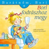 BORI FODRÁSZHOZ MEGY - BARÁTNŐM, BORI - Ekönyv - LIANE SCHNEIDER - ANNETTE STEINHAUER