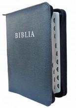 BIBLIA - REVIDEÁLT ÚJ FORDÍTÁS (2014) - CIPZÁRAS BŐRTOKBAN - Ekönyv - KÁLVIN KIADÓ