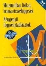 MATEMATIKAI, FIZIKAI, KÉMIAI ÖSSZ. - NÉGYJEGYŰ FÜGGVÉNYT.  (NAT 2012) - Ekönyv - 15129/NAT