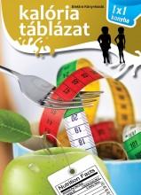 KALÓRIA TÁBLÁZAT - 1X1 KONYHA - Ekönyv - XACT ELEKTRA KFT.