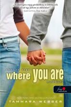 WHERE YOU ARE - AHOL TE VAGY - KÖTÖTT - Ekönyv - WEBBER, TAMMARA