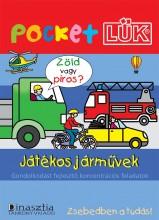 JÁTÉKOS JÁRMŰVEK - POCKETLÜK (ALAPLAPPAL) - Ekönyv - TÖRÖK ÁGNES SZERK.