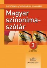 MAGYAR SZINONIMASZÓTÁR 3 AZ EGYBEN! - Ekönyv - AKADÉMIAI KIADÓ ZRT.